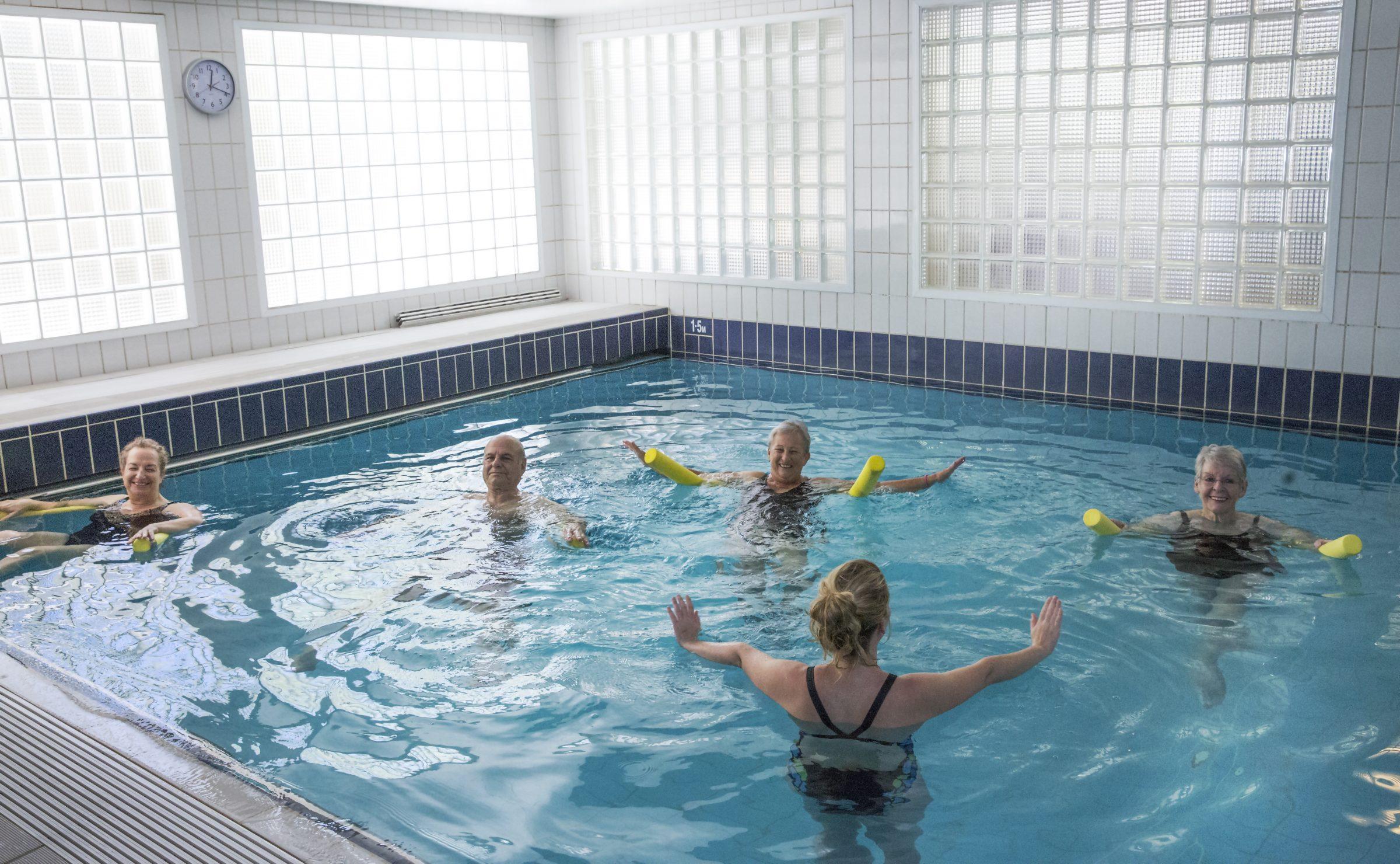 Sam Karpin Hydrotherapy Pool